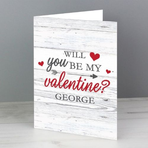 Personalised Be My Valentine Card (1)